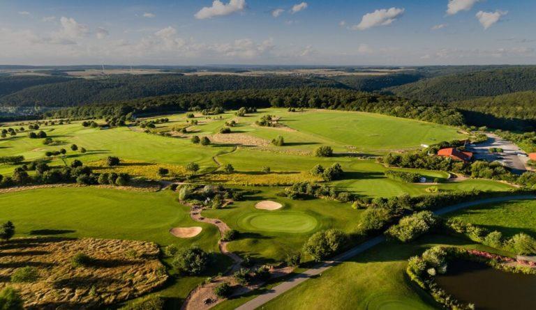 Golfplatz Erftal II Luftbild © Golfclub Miltenberg-Erftal eV